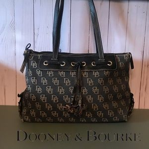 Dooney & Bourke Logo Satchel